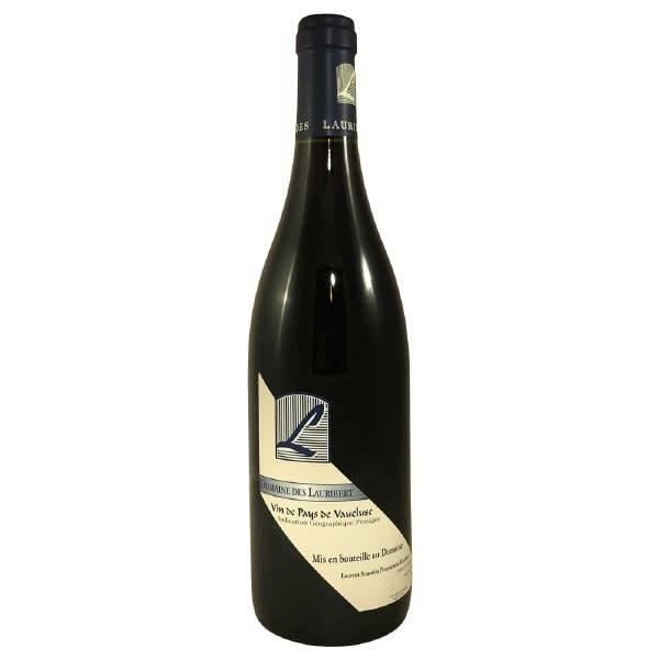 Domaine Des Lauribert Vin de Pays de Vaucluse Red Wine ABV 13% 750 ML