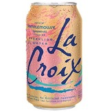 La Croix Sparkling Water Pamplemousse Grapefruit 12 OZ Can