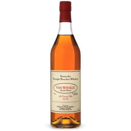 Van Winkle Bourbon 12 Year Special Reserve Lot B ABV:45.2% 750ML