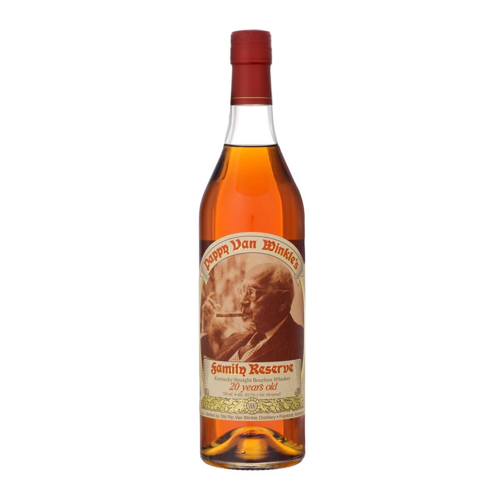 Pappy Van Winkle's Family Reserve 20 Year Straight Bourbon Whiskey ABV: 45.2% 750ML