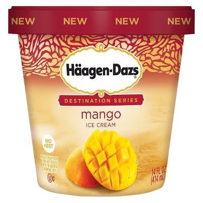 Haagen Dazs Mango Ice Cream 14 oz