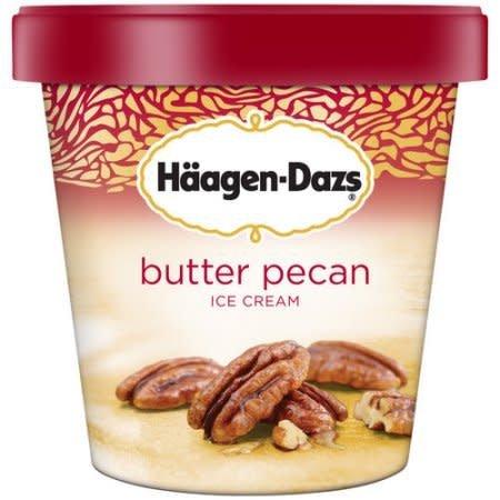 Haagen Dazs Butter Pecan Ice Cream 14 oz