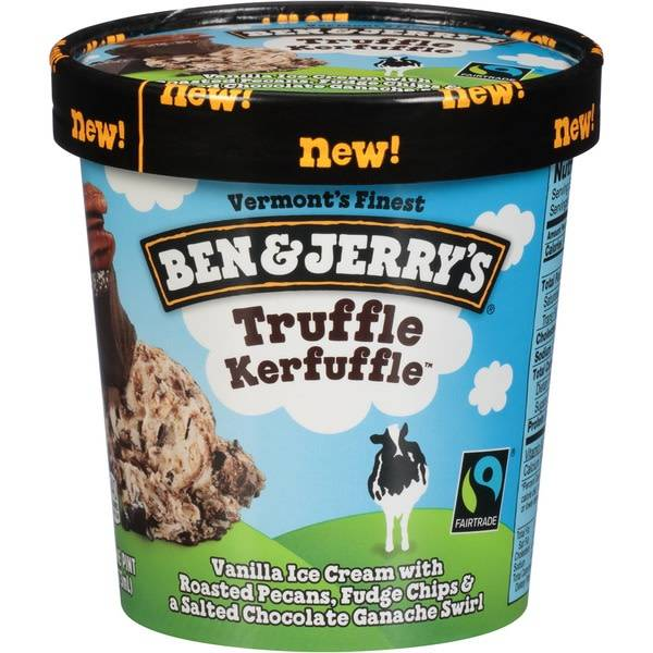 Ben & Jerry's Truffle Kerfuffle Ice Cream 1 pint