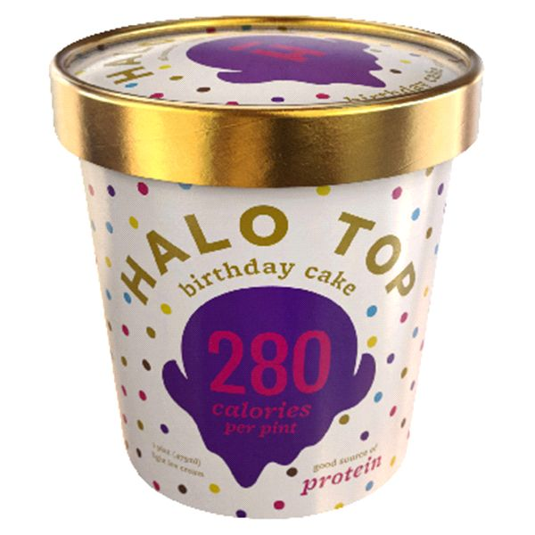 Halo Top Birthday Cake 1 Pint