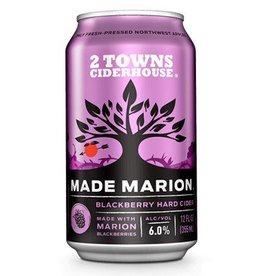 2 Towns Ciderhouse Made Marion ABV 6% 6 Pack