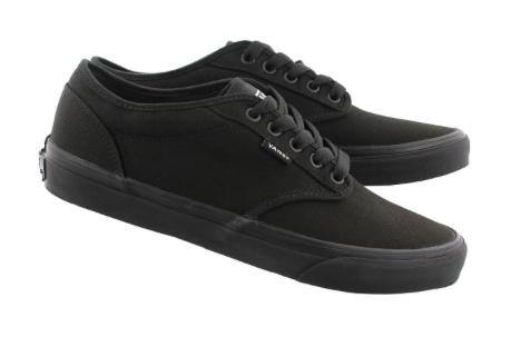 0e3f3d18dc532c Vans Vans Atwood Shoes Canvas Black Black - UNIX Sports