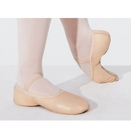 Capezio Child Lily Full Sole Leather Ballet Slippers
