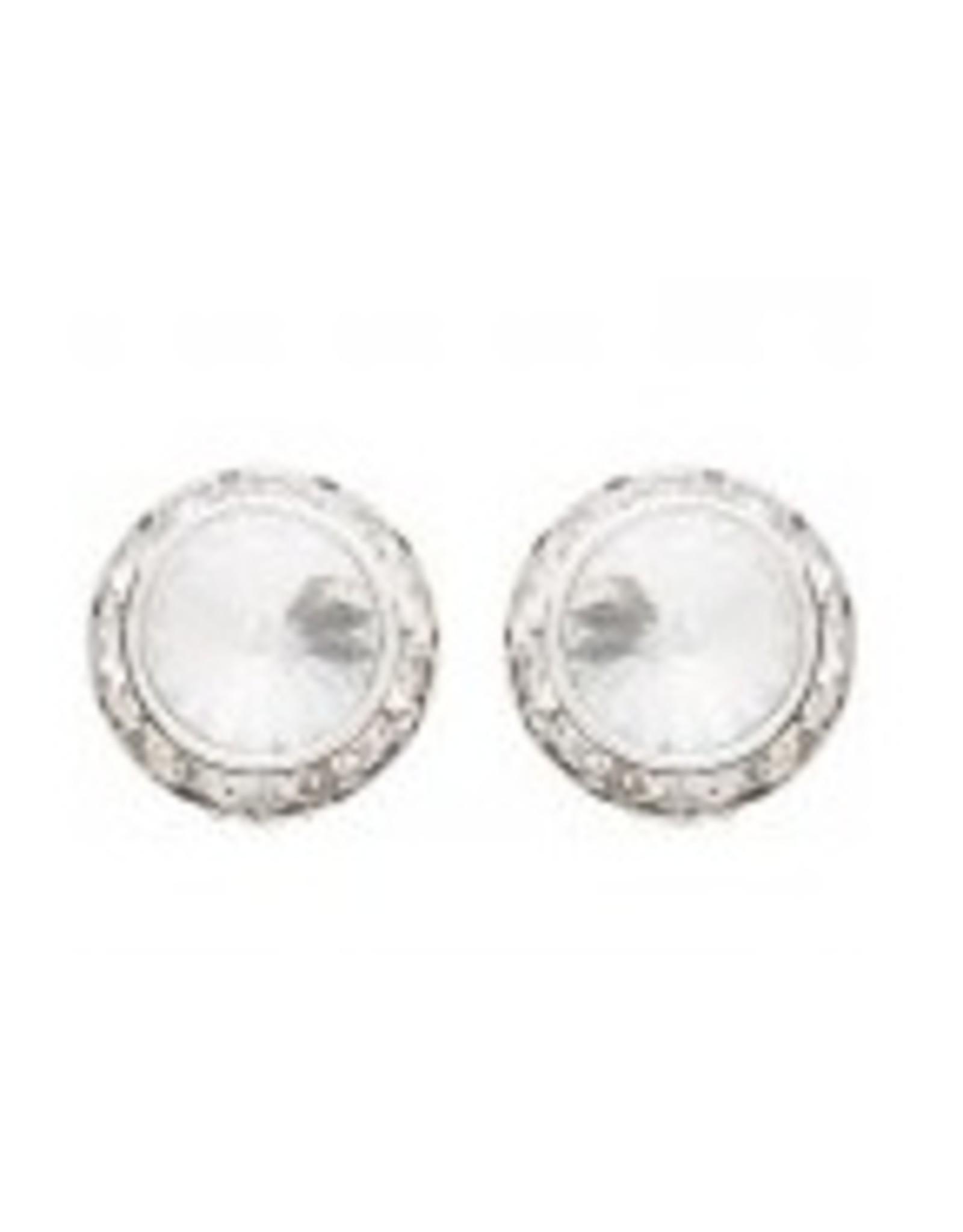 Swarovski  14MM Earrings Crystal