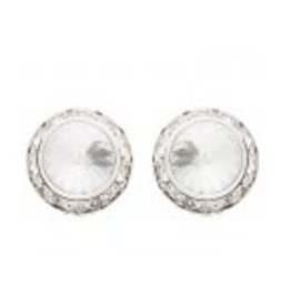 Swarovski  14MM Earrings Crystal