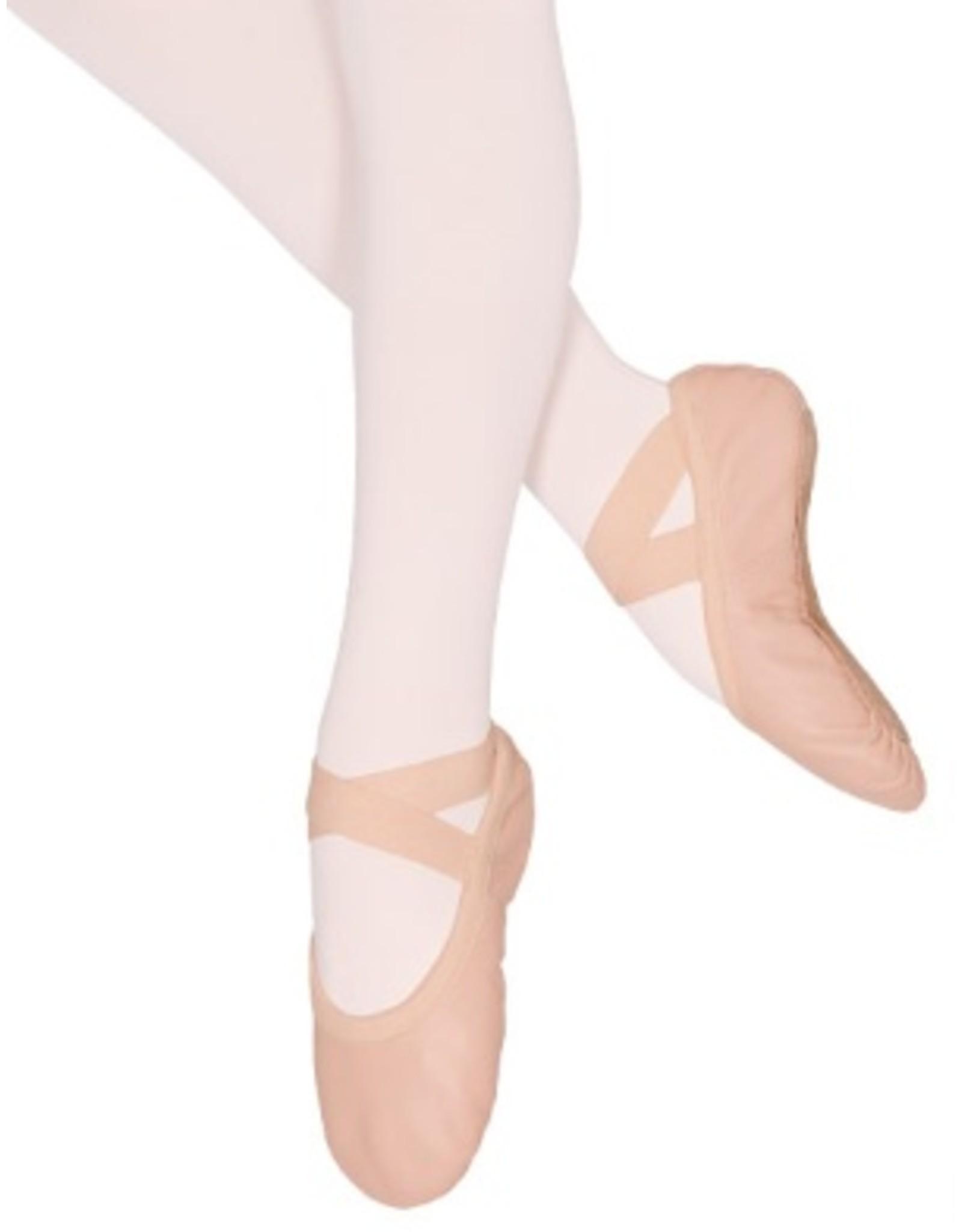 Eurotard Child Passe Full Sole Leather Ballet Shoe