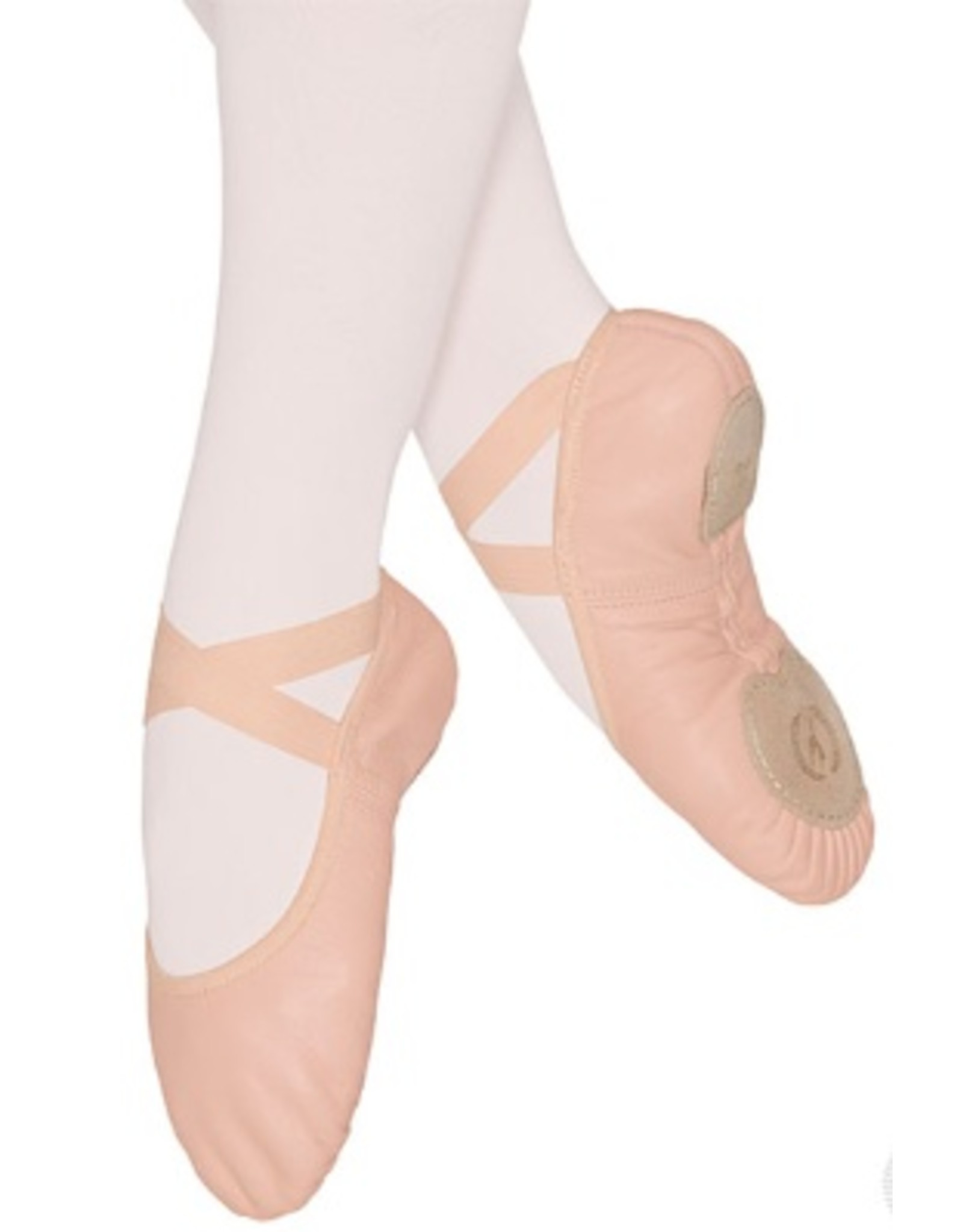 Eurotard Coupe Split Sole Leather Ballet Slipper - Child