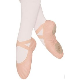 Eurotard Coupe Split Sole Leather Ballet Slipper - Child