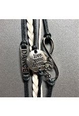Dance, Infinity Live your Dream Bracelet