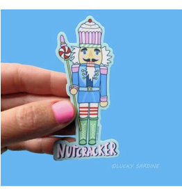Lucky Sardine Nutcracker sticker