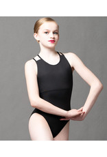 Double Strap Child Cross Back Leotard