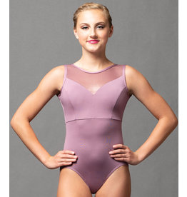 Sweetheart Seam Criss Cross Leotard