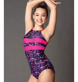 Gymnastics Halter Leotard