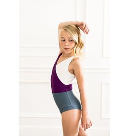Joely Color Block Child Leotard