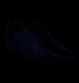 Mens Standard Patent Black Leather