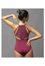 Geometric Back Cami Leotard