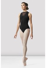 Hi Neck Loop Back Leotard