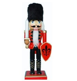 Nutcracker Ballet Gifts 10 Nutcracker Red W/Fur Hat & Shield