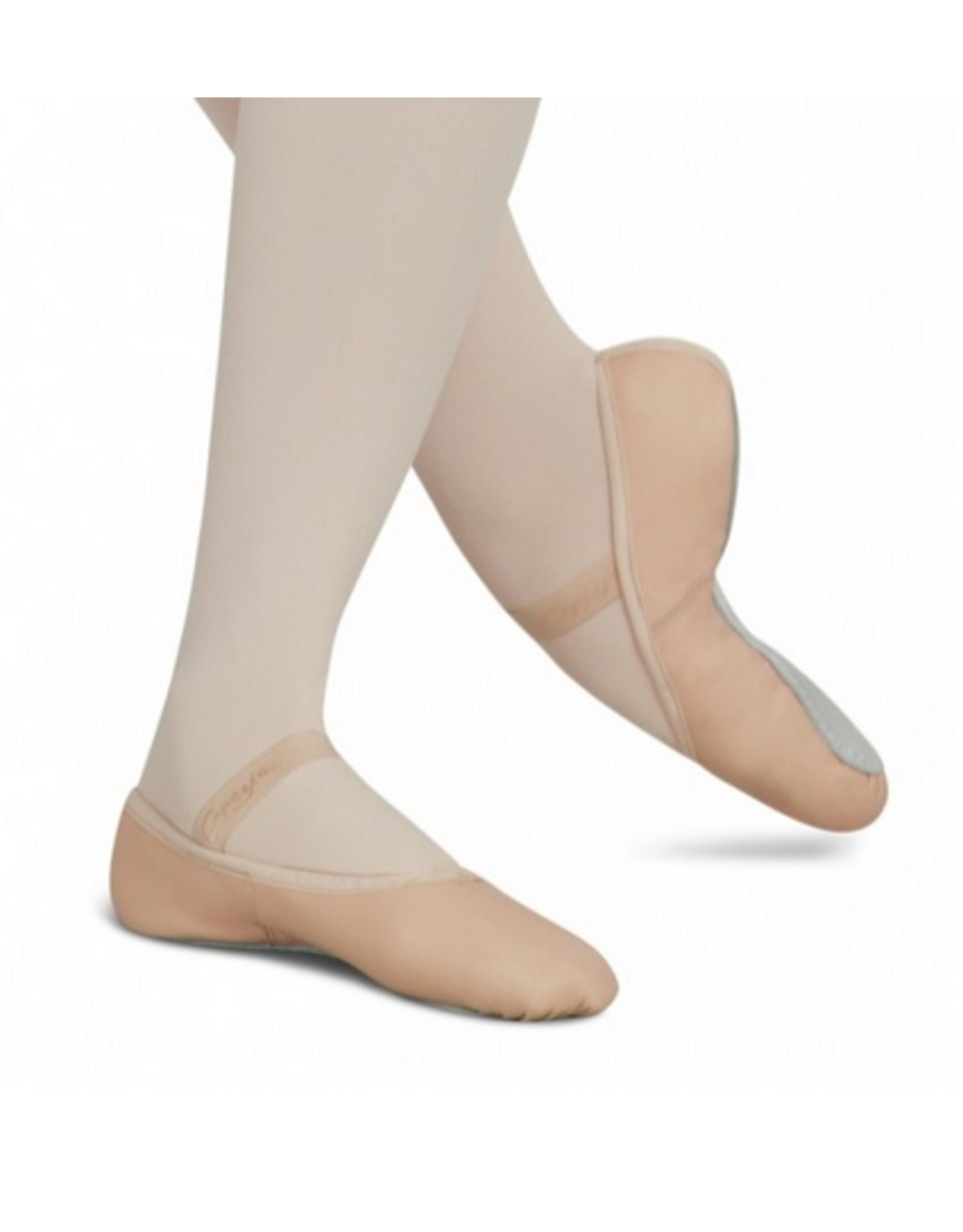 Capezio Daisy - Leather Full Sole - Child