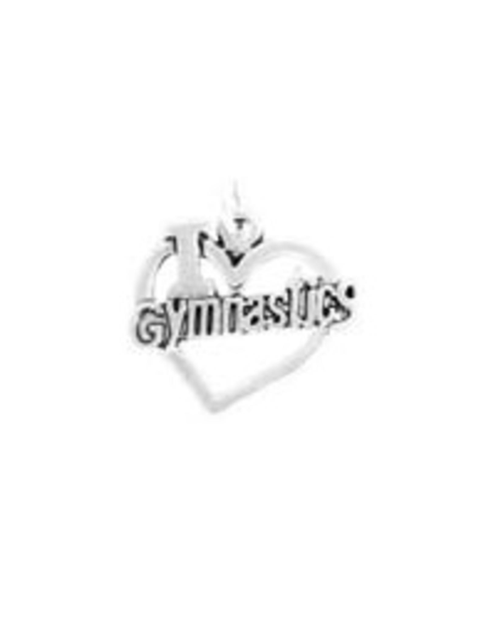 I Love Gymnastics (Big Heart)