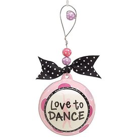 Love To Dance Ornament