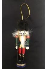 Nutcracker Ballet Gifts Nutcracker Ornament-Fuzzy Hat 5 inch