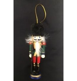 Nutcracker Ballet Gifts Nutcracker Ornament-Fuzzy Hat 5 inch