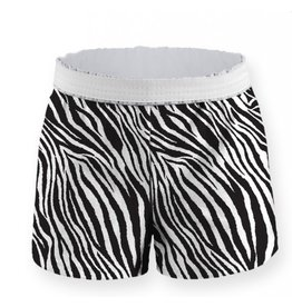 Soffe Soffe Child Zebra Printed Short