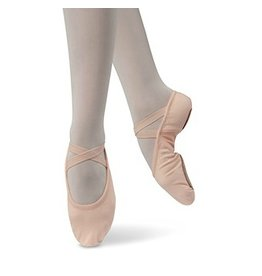 Danshuz Stretch Canvas Ballet Slipper Child PNK