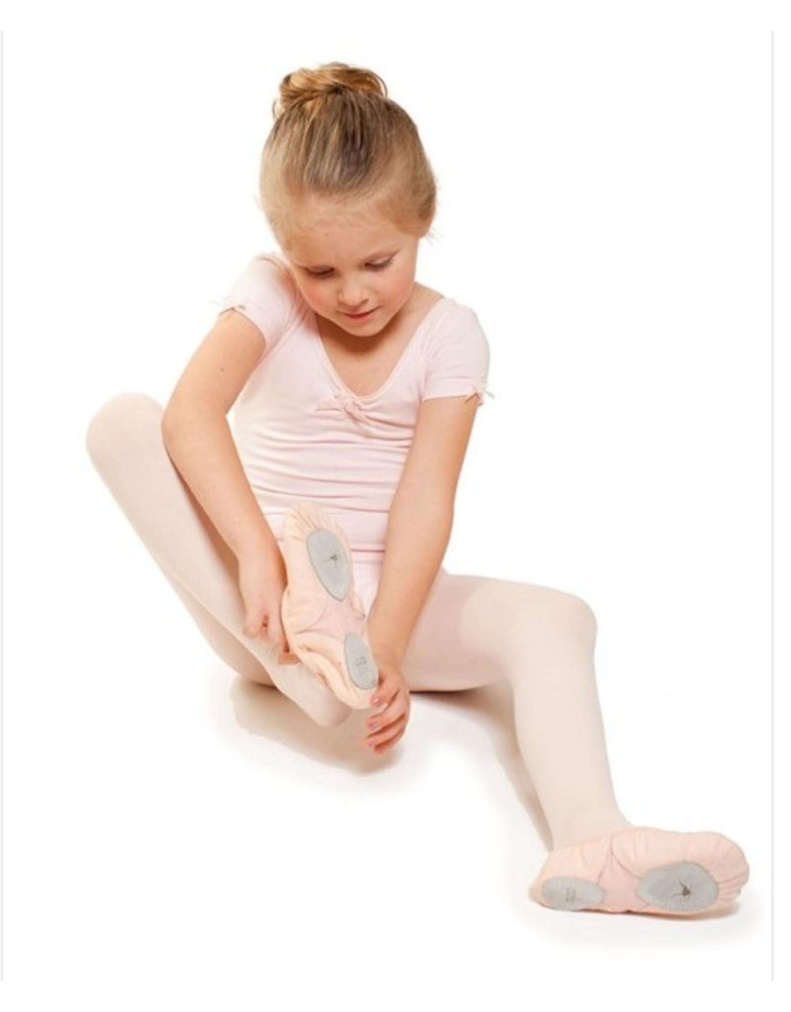 Gaynor Minden Child Joy Technique Canvas Split Sole Slippers