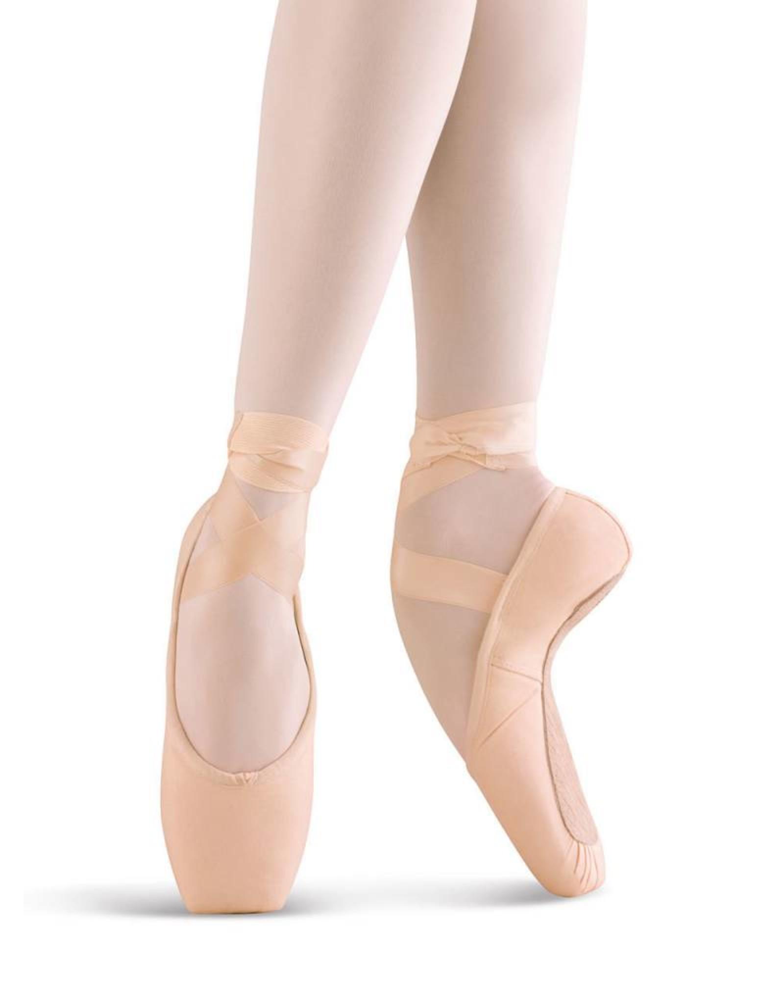 Mirella Mirella Whisper Matte Satin Pink Pointe Shoe