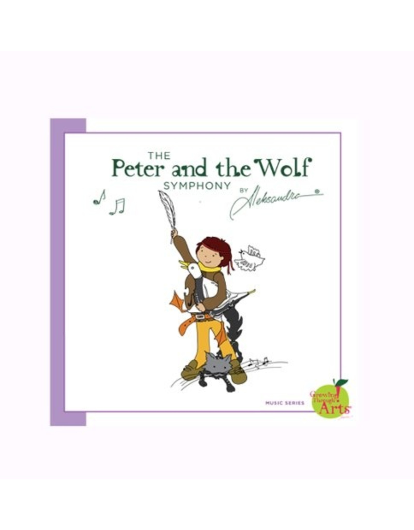 Russian Pointe Peter and the Wolf Symphony Book