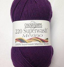 Cascade Cascade 220 SuperWash Merino 60 BLACKBERRY WINE