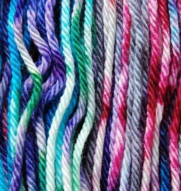 KNITTED WIT Knitted Wit Victory Fingering MERMAID RAINBOW