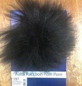 "Aalta Raccoon Fur 5"" Pom Pom"