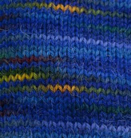 Misti Alpaca MISTI HandPaint Fingering Sock 47 ROYAL BLUE
