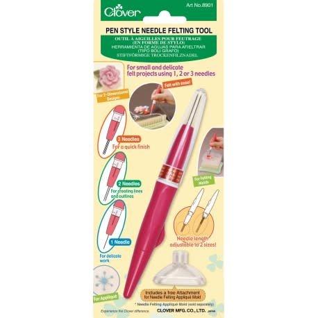Clover 8901 Clover Pen Style Felting Tool