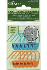 Clover 3109 Clover Jumbo Locking Stitch Markers