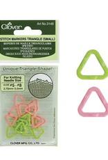 Clover 3149 Clover Stitch Marker Triangle Small