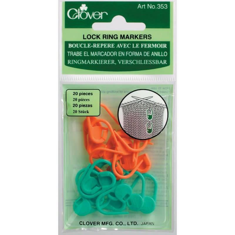 Clover 353 Clover Locking Stitch Markers