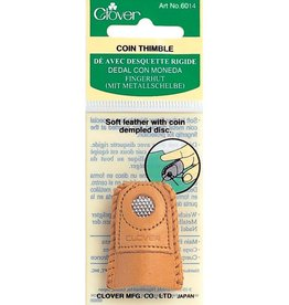 Clover 6014 Clover Leather Coin Thimble