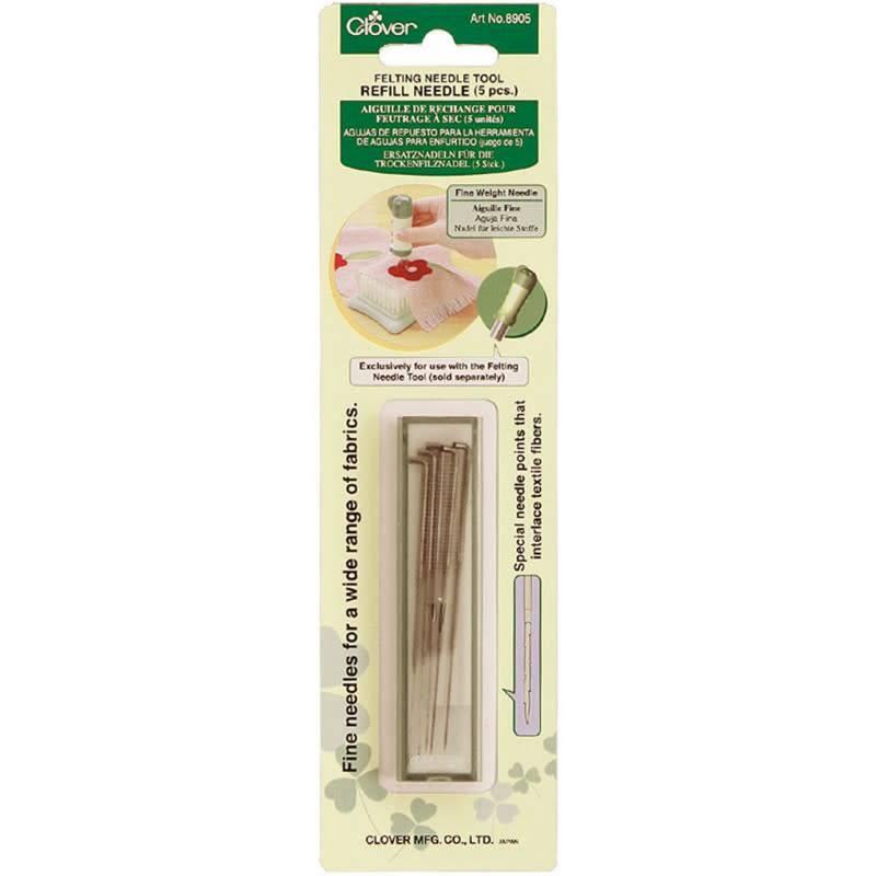 Clover 8905 Clover Fine Felting Needle Refill