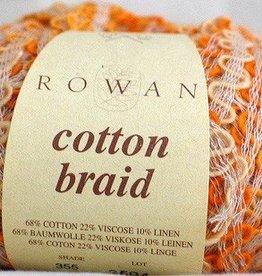Rowan Rowan Cotton Braid 355 Mandarin SALE REGULAR $10-