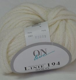 OnLine Yarns OnLine Linie 194 SOLO Ivory 301 SALE REG $12-