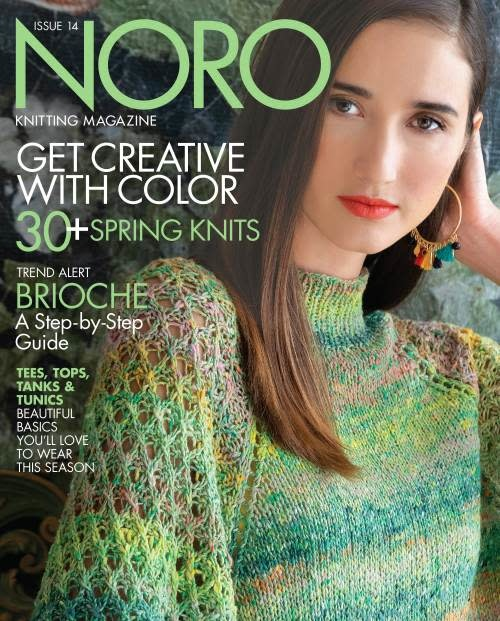 Knitting Fever Noro Magazine ISSUE 14 SPRING 2019