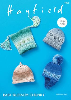 Hayfield Hayfield 4865 Baby Blossom Hats